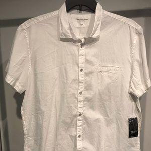 Calvin Klein Jeans Short Sleeve Button Up